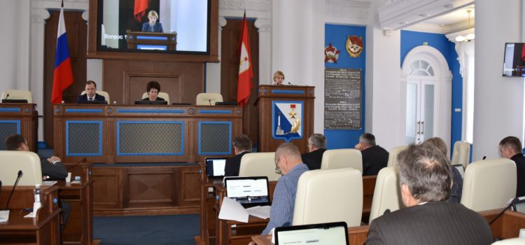 Парламентарии заслушали отчёт о деятельности Контрольно-счётной палаты за 2016 год