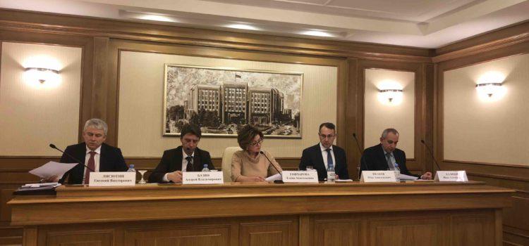 Председатель Контрольно-счетной палаты города Севастополя приняла участие в работе комиссии по правовым вопросам