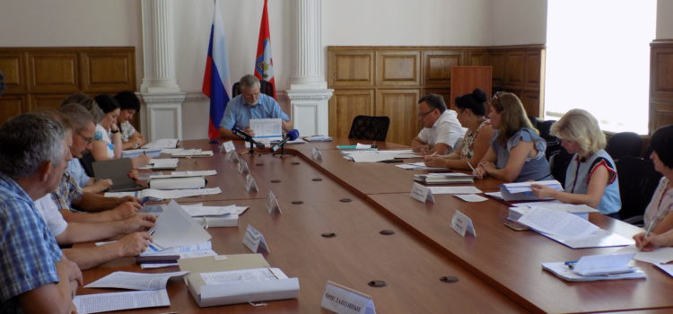 Состоялось очередное заседание постоянной комиссии по бюджету