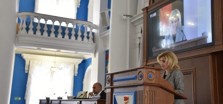 Председатель КСП г.Севастополя Юлия Кокарева приняла участие в публичных слушаниях по проекту закона города Севастополя