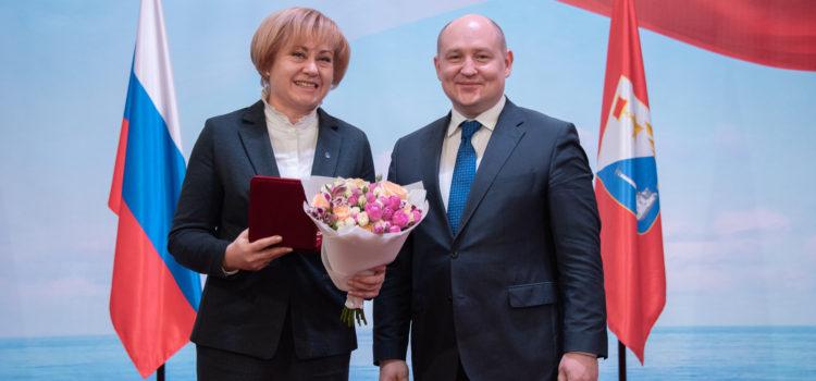 Аудитор Контрольно-счетной палаты награжден Государственной наградой города Севастополя