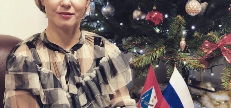 Поздравление Председателя Контрольно-счетной палаты г.Севастополя с наступающим Новым годом!